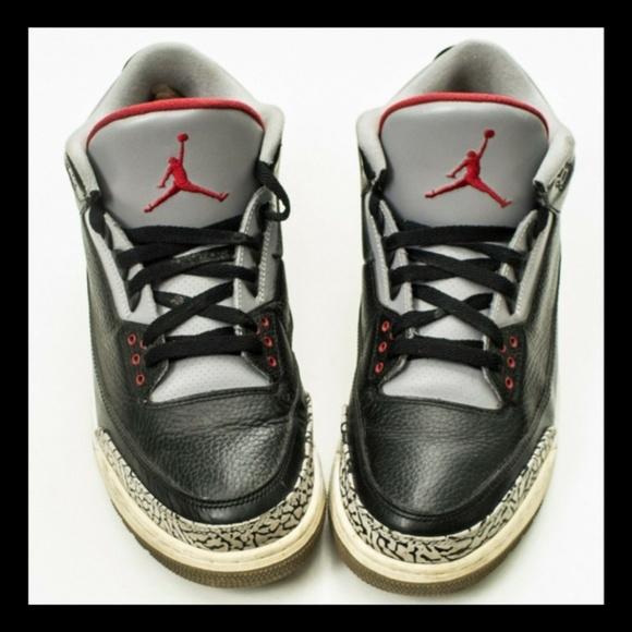 reputable site 10fde 3ac81 Nike Air Jordan 3 Retro III Bred Authentic 11.5